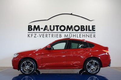 BMW X4 xDrive 35d M-Paket,HeadUp,LED,Kamera,Assistenzpaket,Glasdach bei BM-Automobile e.U. in