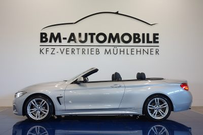 BMW 420d Cabrio M-Paket Aut.,NaviProf.,Nackenwärmer,Leder bei BM-Automobile e.U. in