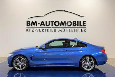 BMW 435i Coupe M-Paket Aut.,1.Besitz,Estorilblau,Navi,19″Alu,Alcantara bei BM-Automobile e.U. in