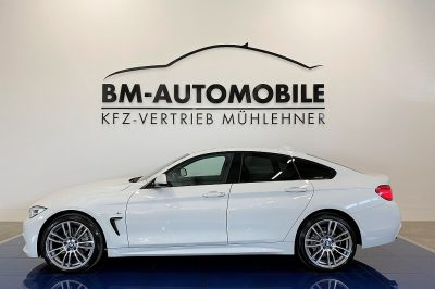 BMW 420d xDrive Gran Coupe M Sport Aut.,LCI,HeadUp,LED,Assistenzpaket,19″Alu bei BM-Automobile e.U. in