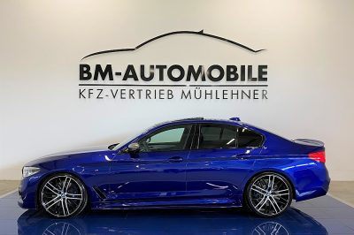 BMW 550i 530PS,Individual,SanMarinoBlau,M-Performance,Laser,21″ bei BM-Automobile e.U. in
