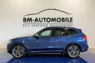 BMW X3 M40i 360PS,HeadUp,1.Besitz,LED,AHK,Assistenzpaket,21″Alu bei BM-Automobile e.U. in