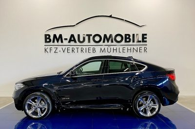 BMW X6 xDrive40d M-Paket,LED,HeadUp,B&O,Glasdach,21″Alu bei BM-Automobile e.U. in