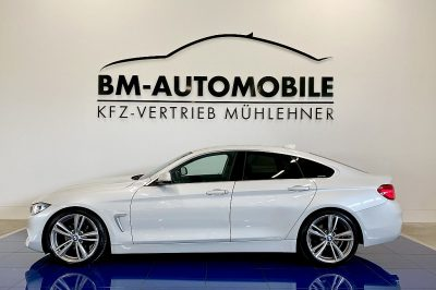 BMW 420d Gran Coupe Aut.,Navi,Leder,ACC,Sportsitze,19″Alu bei BM-Automobile e.U. in